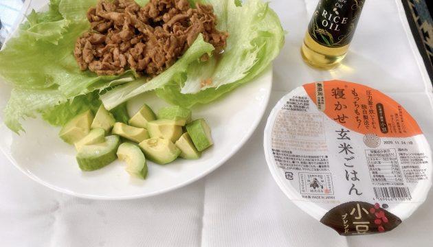 玄米と米油でダイエット!