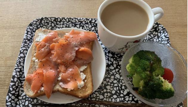 自粛中の朝食メニュー!