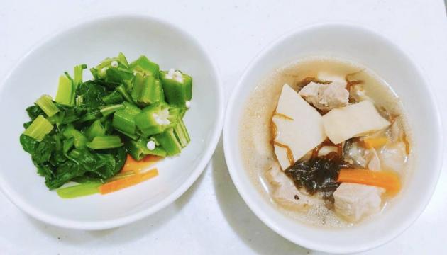 減量中のスープはオススメです!