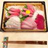 お刺身を食べましょう!!