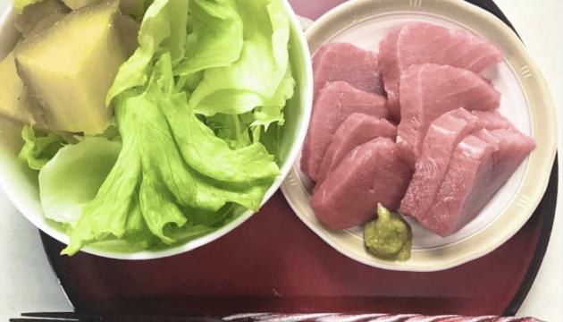 ダイエット中の生魚について