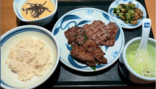 外食時のご飯の量の調整